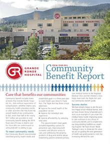Community Benefit Report