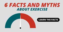 6 myths and facts about exercise